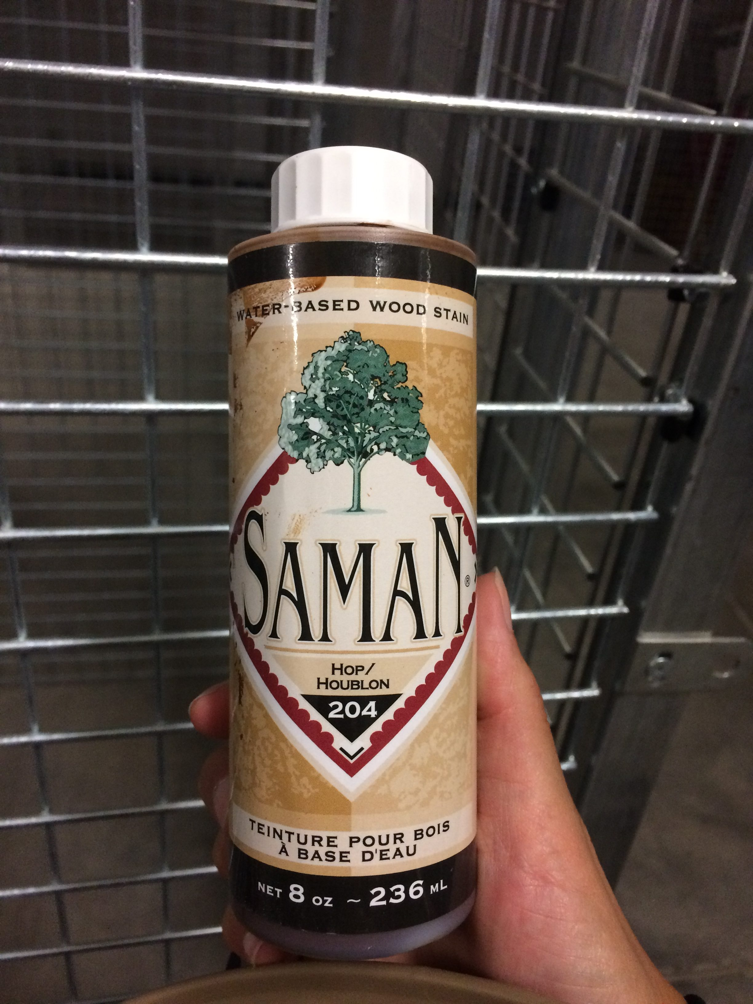 Saman wood stain water based