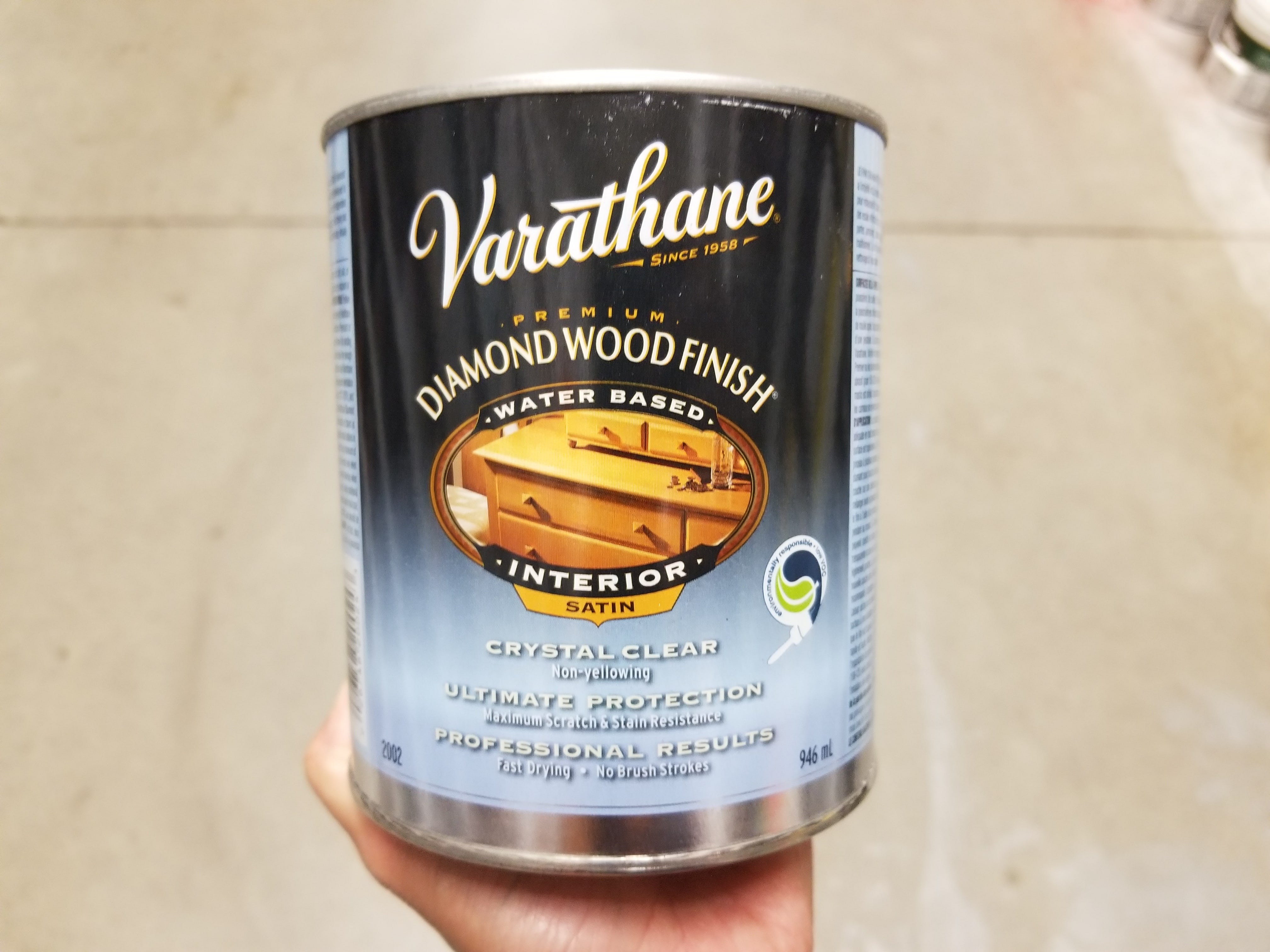 Varathane wood finish satin