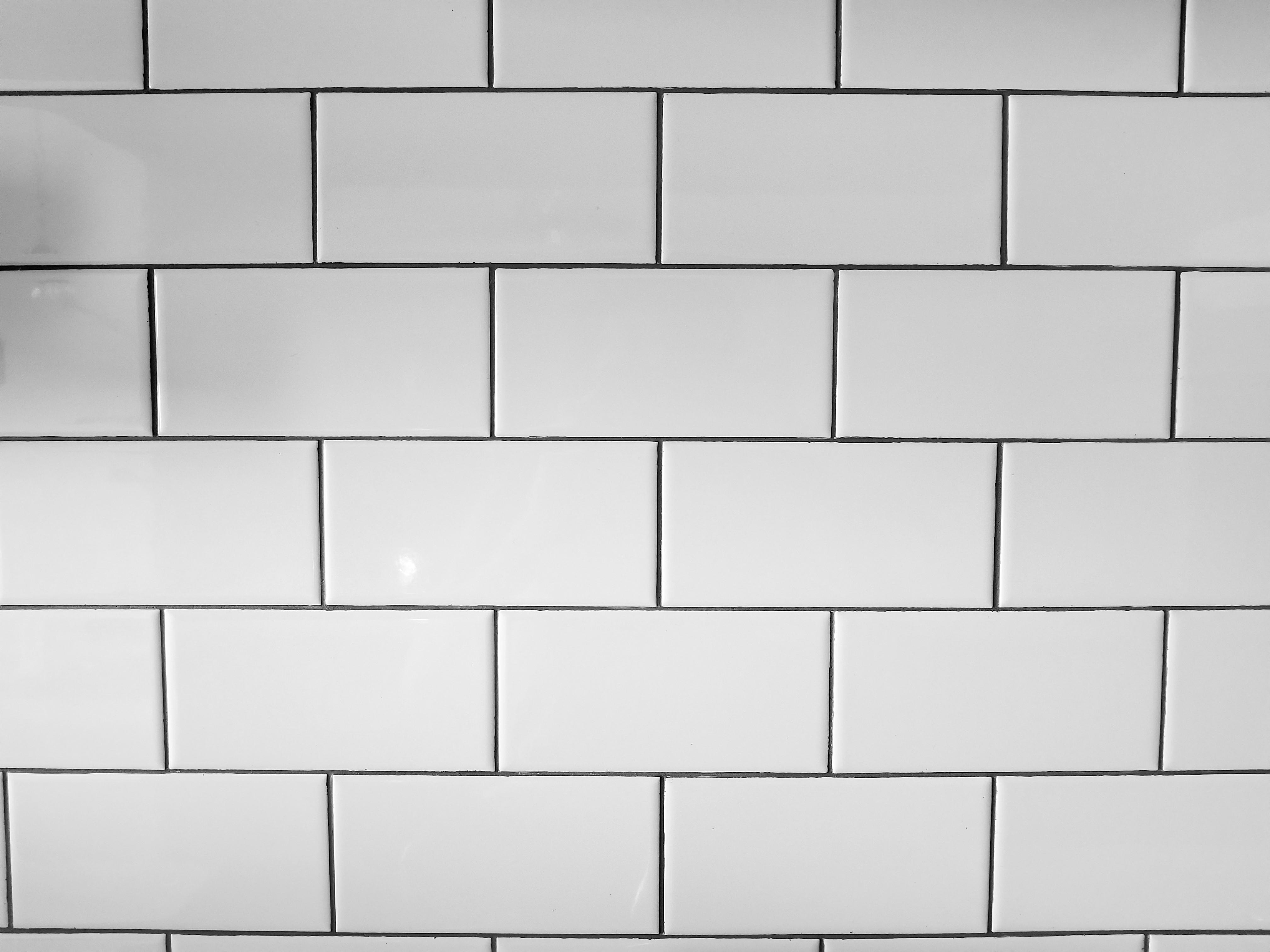 dark grey grout stain kitchen tiles