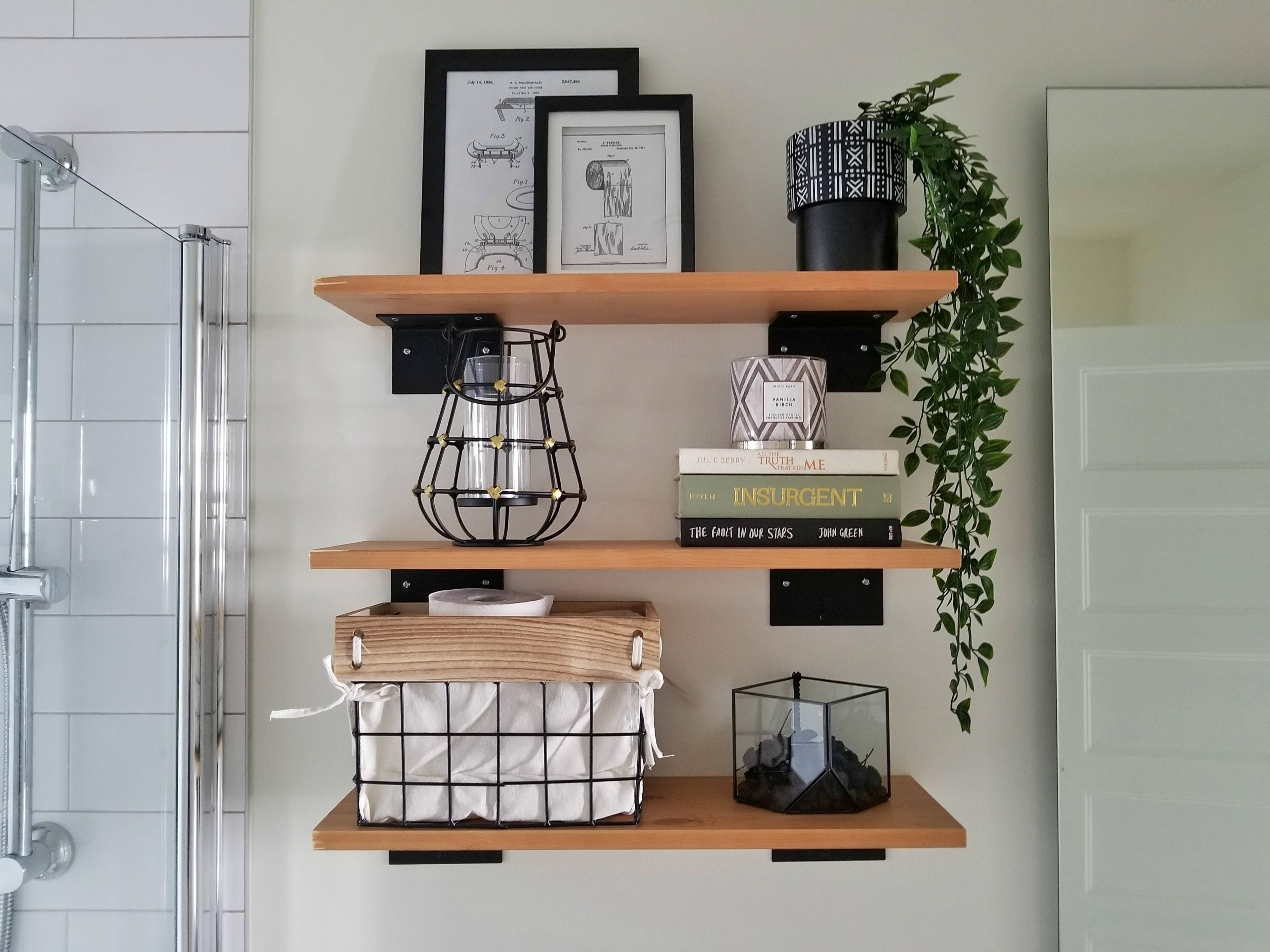 How to hang ikea wall shelves