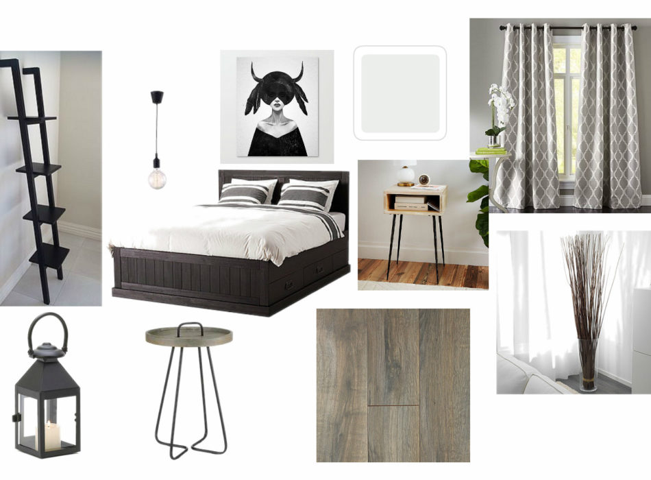 small space designer mood board