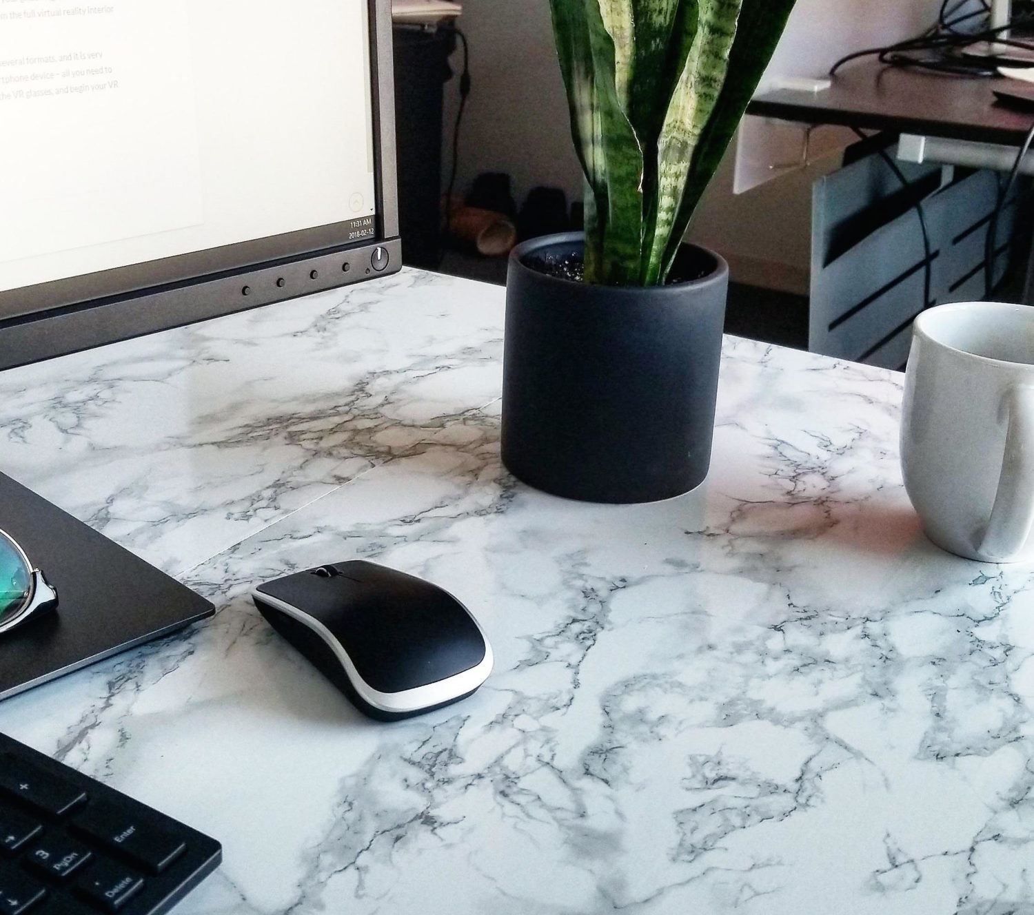 Marble Contact Paper How To Give Your Table A Makeover