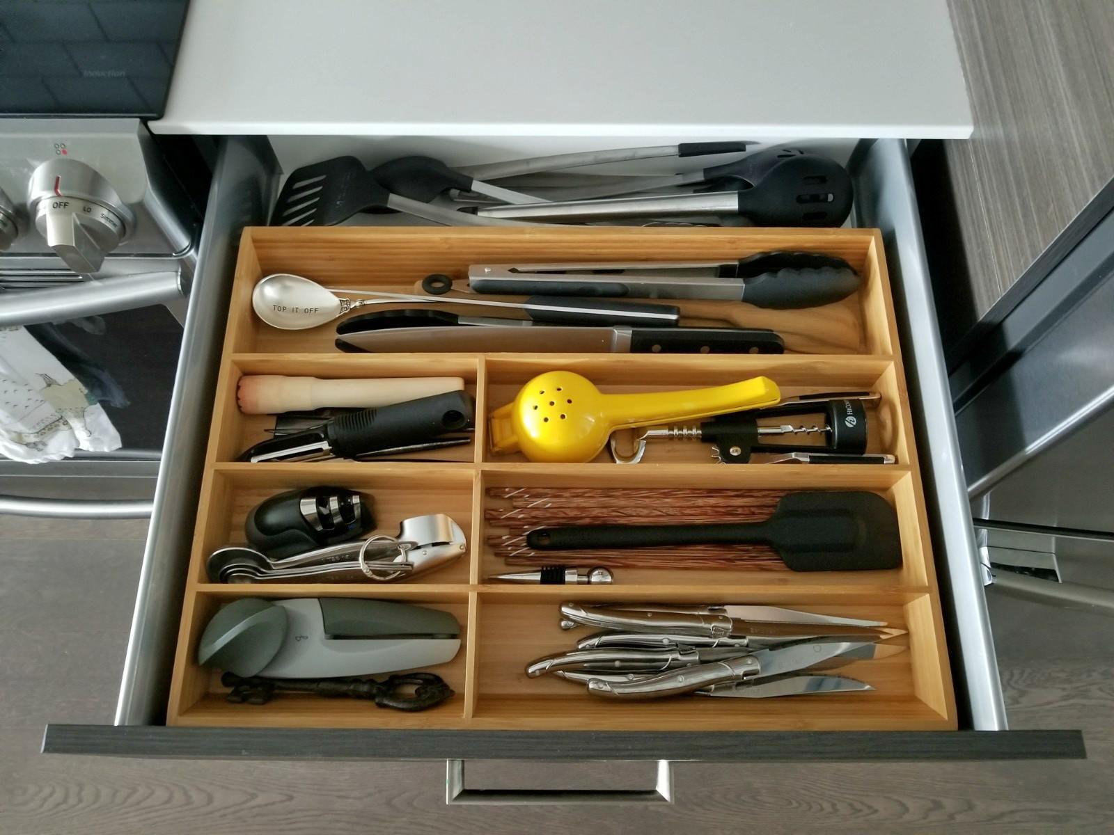 Ikea utensil organizers