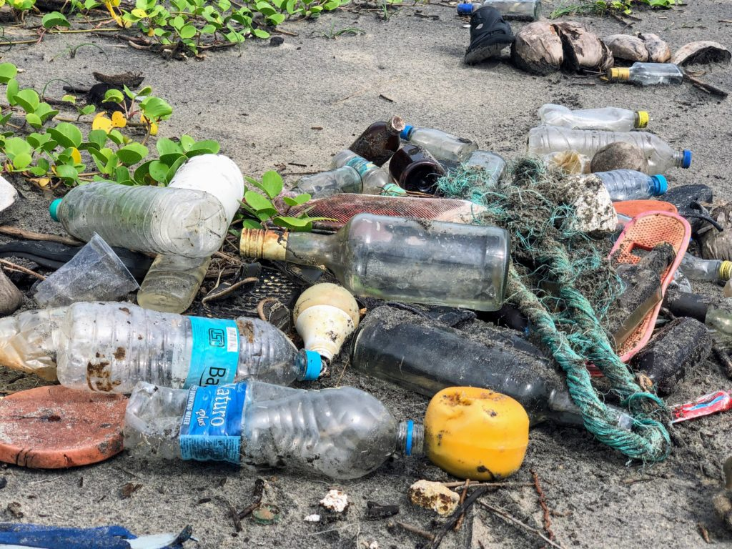 Use less plastic at home